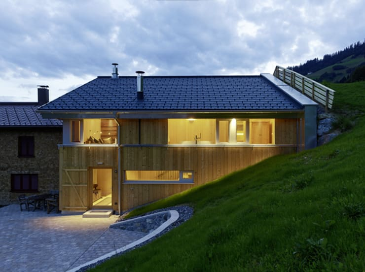 Houses by HAMMERER ztgmbh . architekten