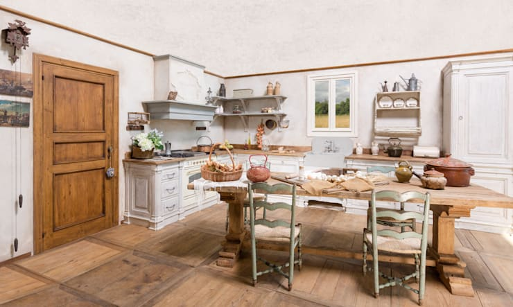 Cucina Magia: Cucina in stile  di Porte del Passato