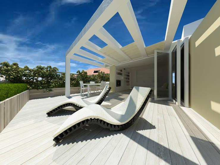 Terrazas de estilo  de giovanni marongiu _ GMAvisual