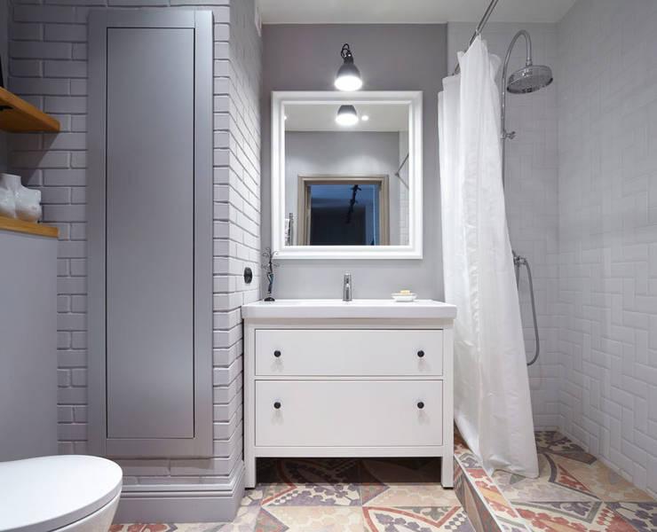 Ивантеевка: Ванные комнаты в . Автор – арХбабы