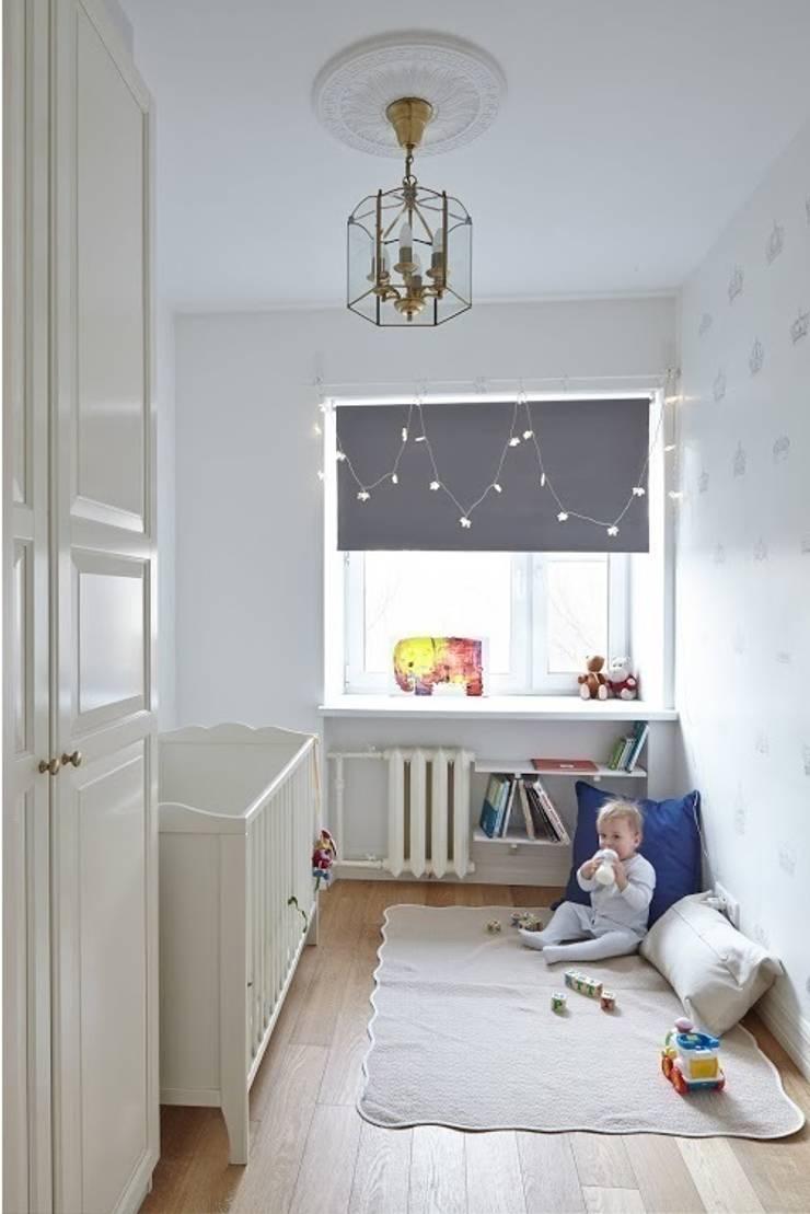 квартира в центре Москвы: Детские комнаты в . Автор – арХбабы