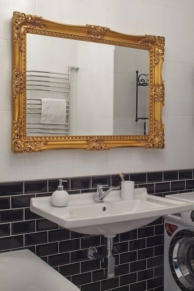квартира в центре Москвы: Ванные комнаты в . Автор – арХбабы