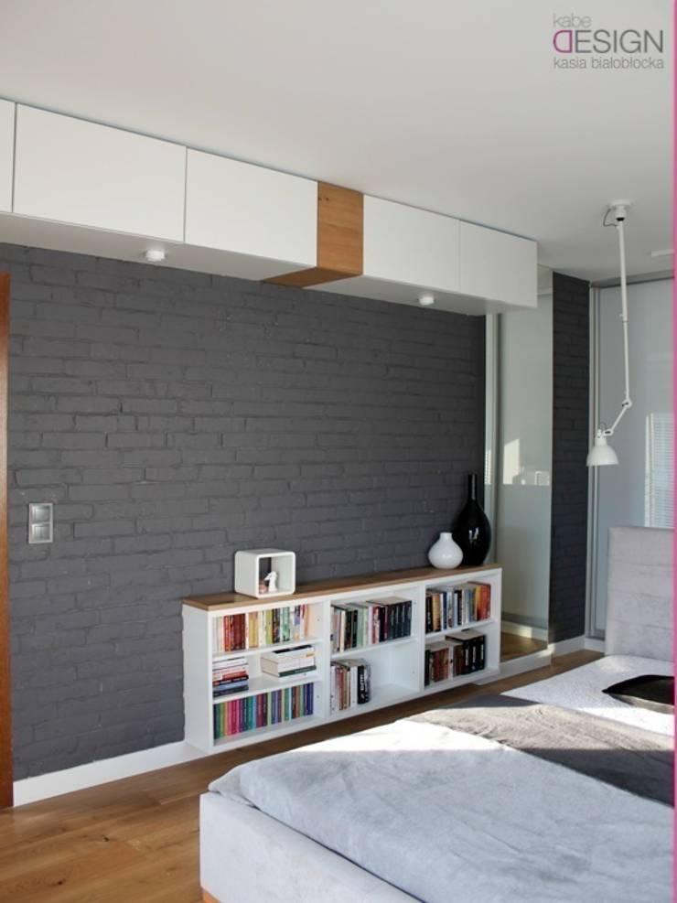 metamorfoza Sypialnia: styl , w kategorii Sypialnia zaprojektowany przez kabeDesign kasia białobłocka,Skandynawski