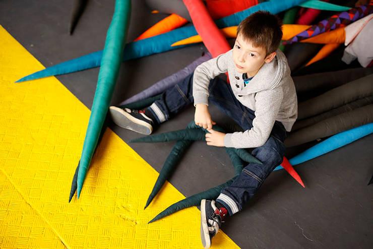 Dziabągi- interactive branches: styl , w kategorii Pokój dziecięcy zaprojektowany przez Kokodyl
