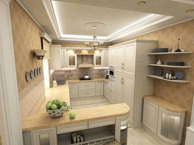 Дом: Кухни в . Автор – Дизайн-студия Сергеевой Надежды,