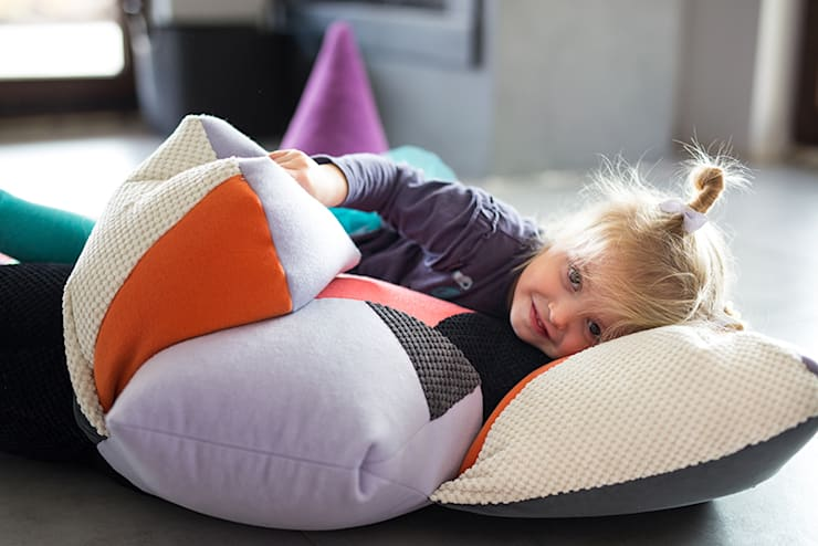 Bulba's Family: styl , w kategorii Pokój dziecięcy zaprojektowany przez Kokodyl