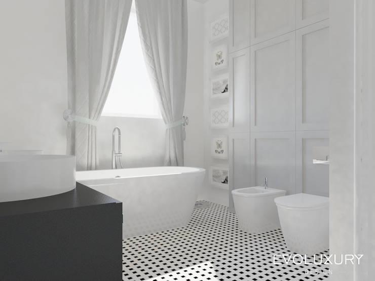 BROADWAY: styl , w kategorii Łazienka zaprojektowany przez EVOLUXURY DESIGN,Nowoczesny