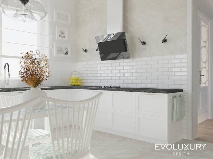 BROADWAY: styl , w kategorii Kuchnia zaprojektowany przez EVOLUXURY DESIGN,Nowoczesny