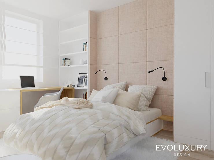 غرفة نوم تنفيذ EVOLUXURY DESIGN