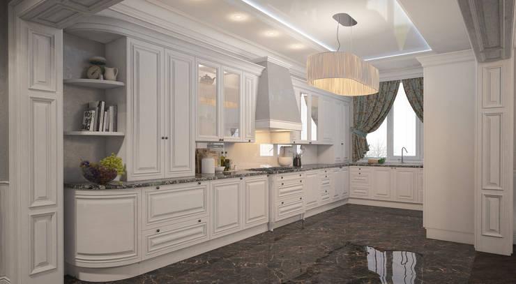 Неоклассика: Кухни в . Автор – room4life
