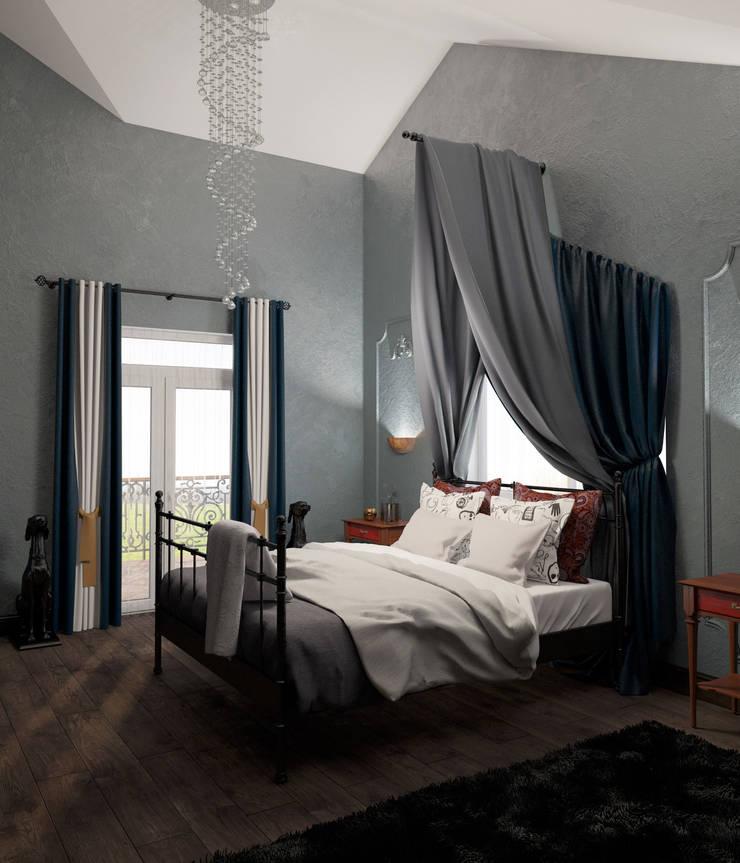 Неоклассика: Спальни в . Автор – room4life