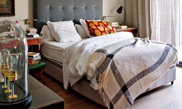EL CIELO INMOBILIARIO: Dormitorios de estilo  de LUZIO