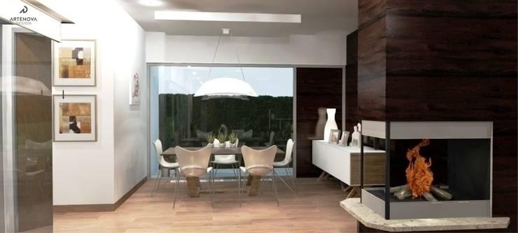 Dining room by Artenova Design,