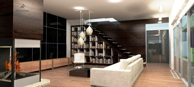 Living room by Artenova Design,