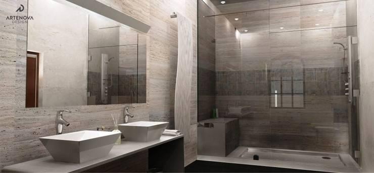 Bathroom by Artenova Design,