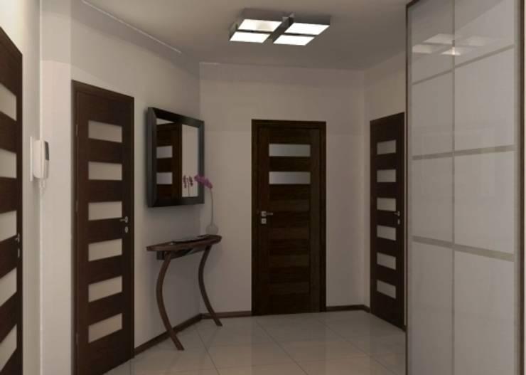 Projekt domu: styl , w kategorii Korytarz, przedpokój zaprojektowany przez Artenova Design,Nowoczesny