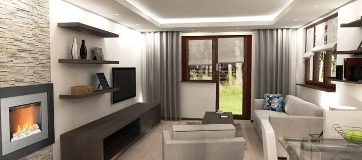 Projekt domu: styl , w kategorii Salon zaprojektowany przez Artenova Design,Nowoczesny