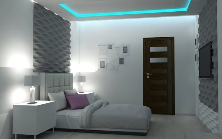Projekt domu: styl , w kategorii Sypialnia zaprojektowany przez Artenova Design,Nowoczesny