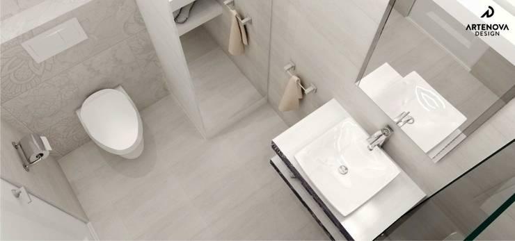 nowoczesne mieszkanie : styl , w kategorii Łazienka zaprojektowany przez Artenova Design