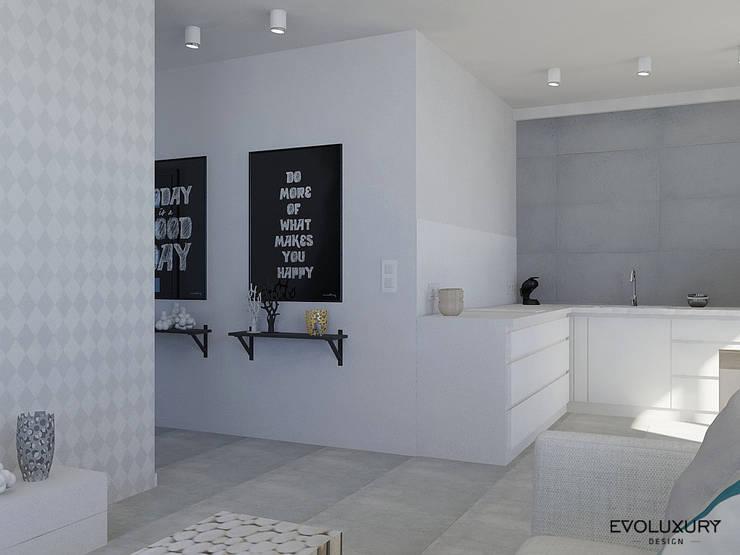 THE ORIGIN: styl , w kategorii  zaprojektowany przez EVOLUXURY DESIGN,Skandynawski