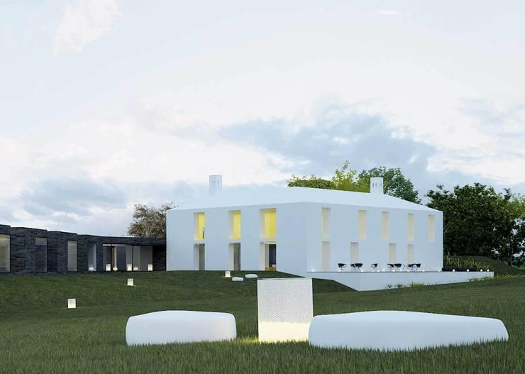 quinta da branca: Casas  por Artspazios, arquitectos e designers