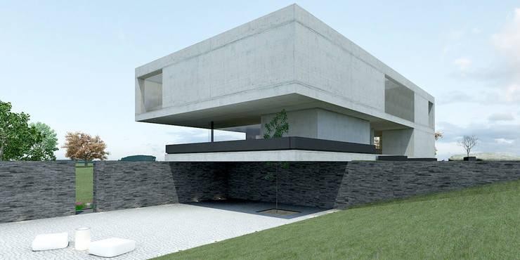 casa O+C: Casas  por Artspazios, arquitectos e designers