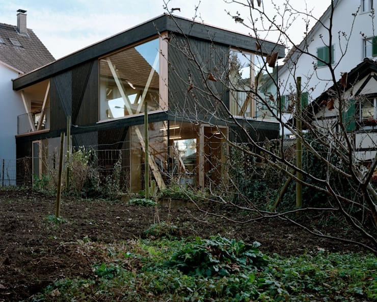 AUSSENANSICHT:  Häuser von smarch-Mathys&Stücheli