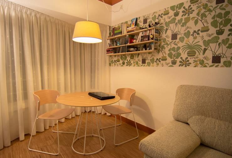 Salón / Comedor - Reforma integral en Donostia / San Sebastián (Gipuzkoa): Comedor de estilo  de Apal Estudio