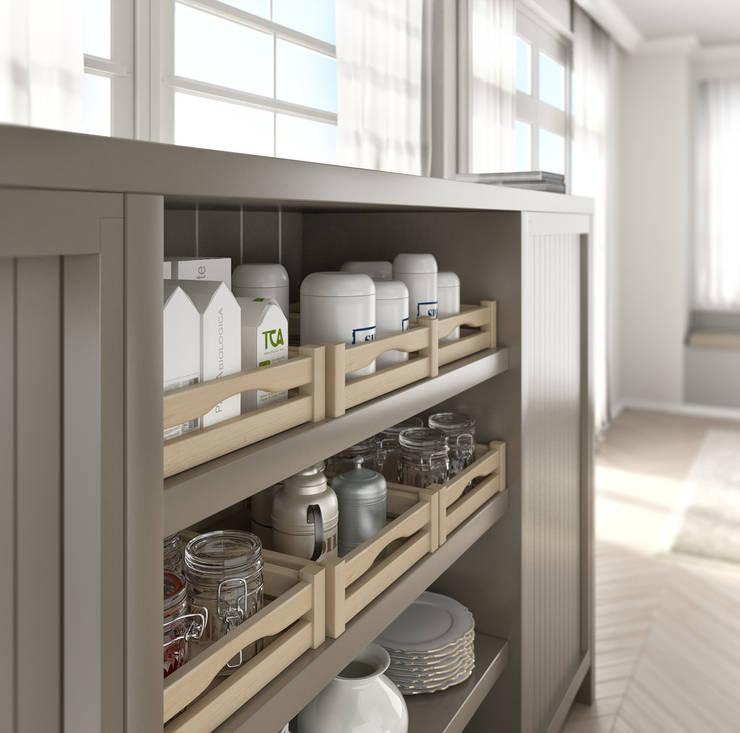 Kitchen space: Cucina in stile in stile Moderno di LorianoGiacchi