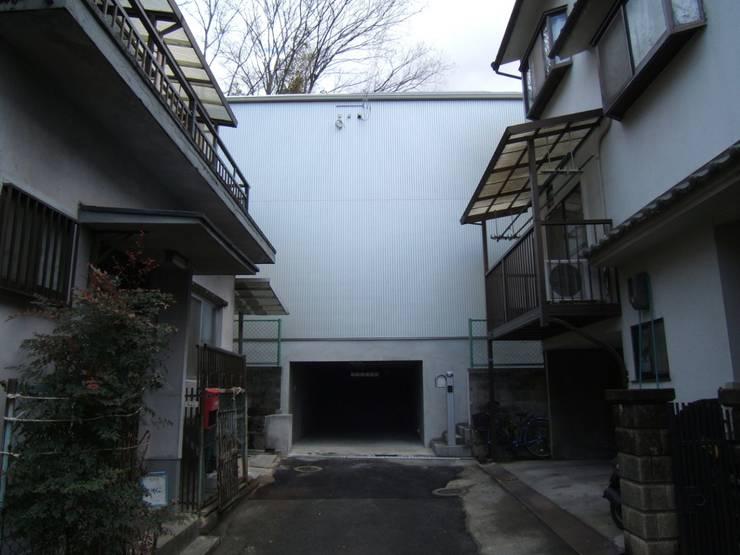 道路側外観: OSM建築設計事務所が手掛けた家です。