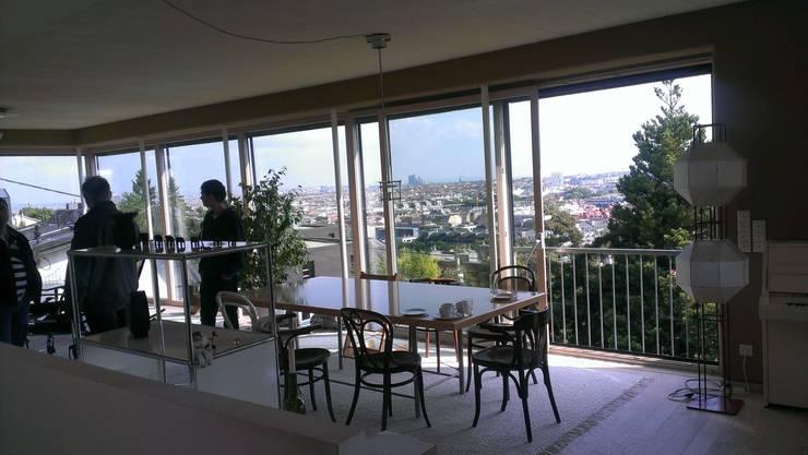 modern Living room by Architekturbüro Reinberg ZT GmbH