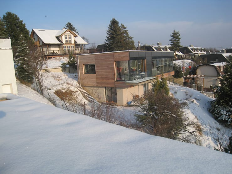 modern Houses by Architekturbüro Reinberg ZT GmbH