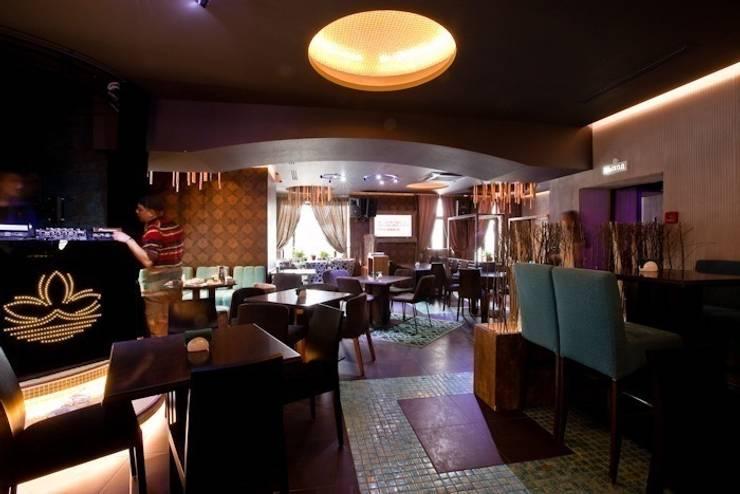 Ресторан пан-азиатской кухни Makao-Club: Гостиная в . Автор – Васечкин  Design