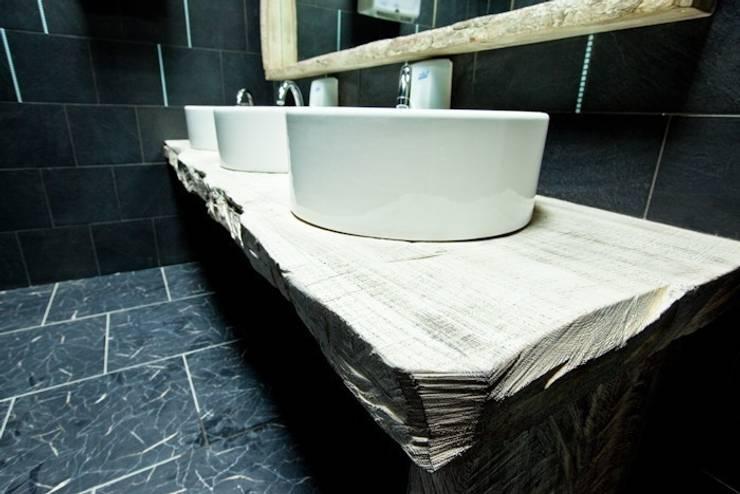Ресторан пан-азиатской кухни Makao-Club: Ванная комната в . Автор – Васечкин  Design