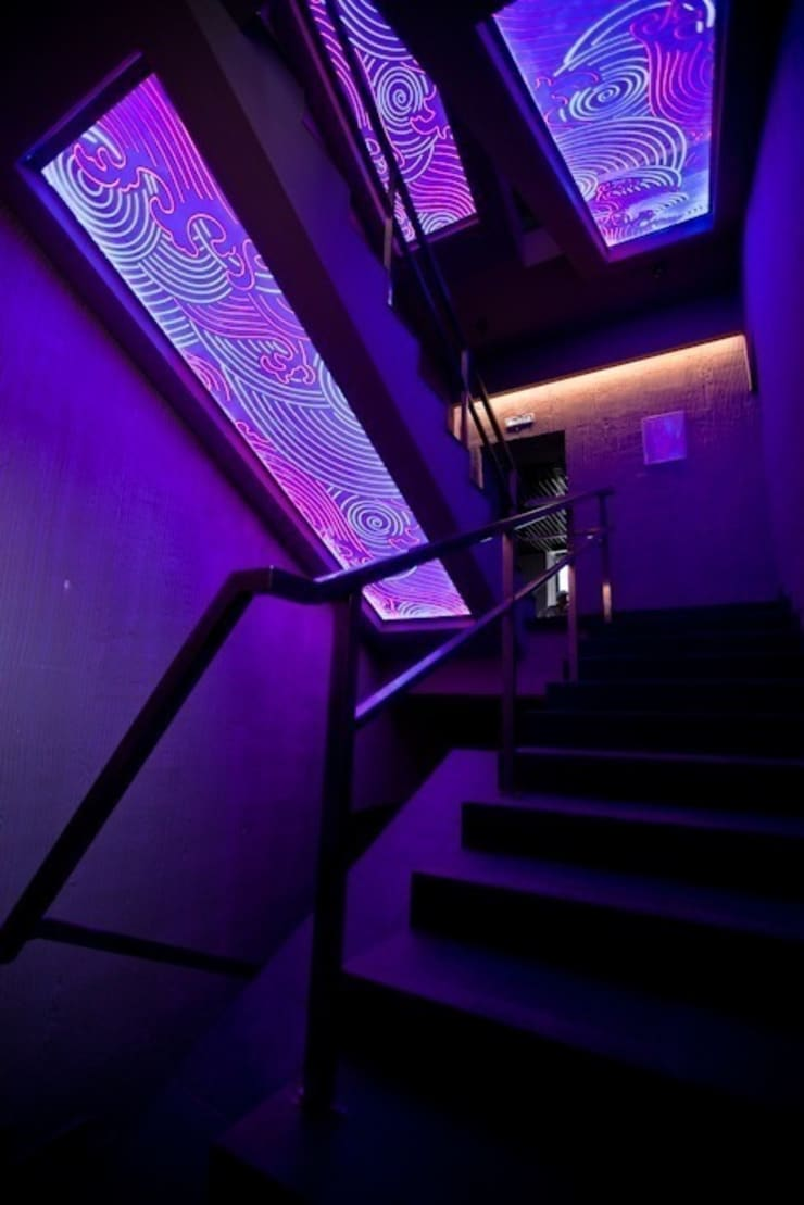 Ресторан пан-азиатской кухни Makao-Club: Прихожая, коридор и лестницы в . Автор – Васечкин  Design
