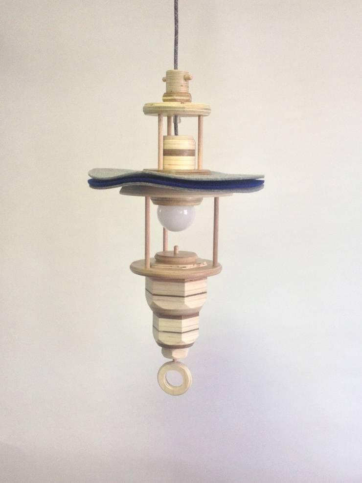 Hanglamp:   door Ingrid Kruit
