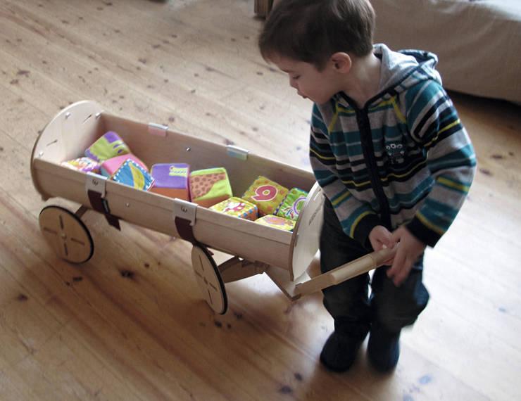 Spielwagen - los geht's!:  Kinderzimmer von Kidskoje
