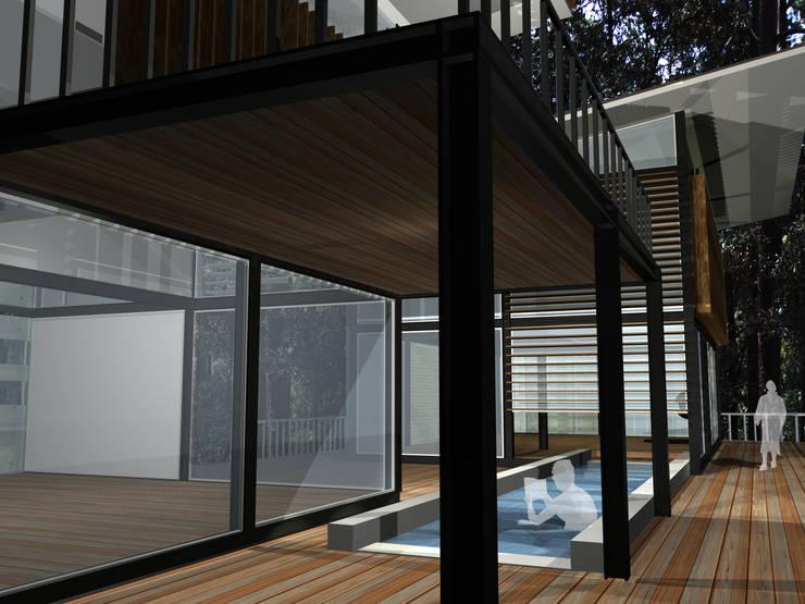 Proyecto Avándaro: Casas de estilo  por Karell Studio