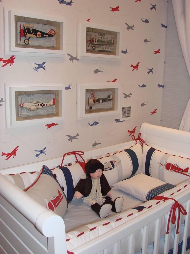 Nursery/kid's room by  Adriana Fiali e Rose Corsini - FICODesign , Modern