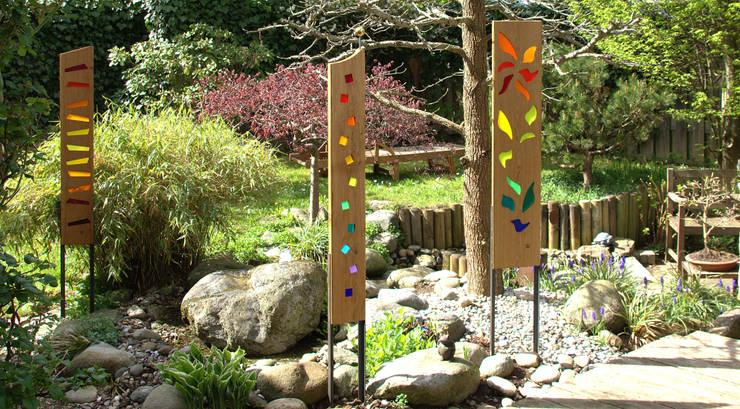 """Gartenkulpturen """"Auriga"""",  """"Orion"""" und """"Andromeda"""" : ausgefallener Garten von Finke Die Gartenidee"""