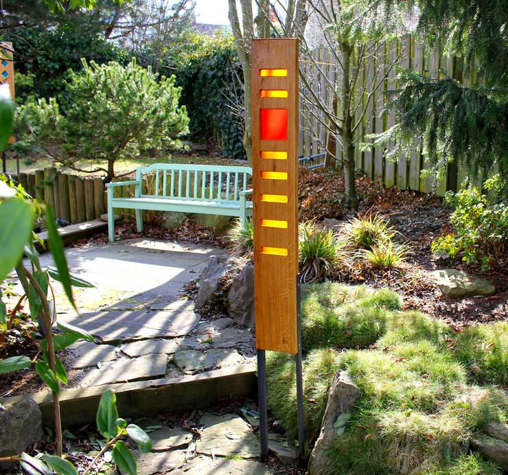 Eichenstelen Von Finke Die Gartenidee Homify