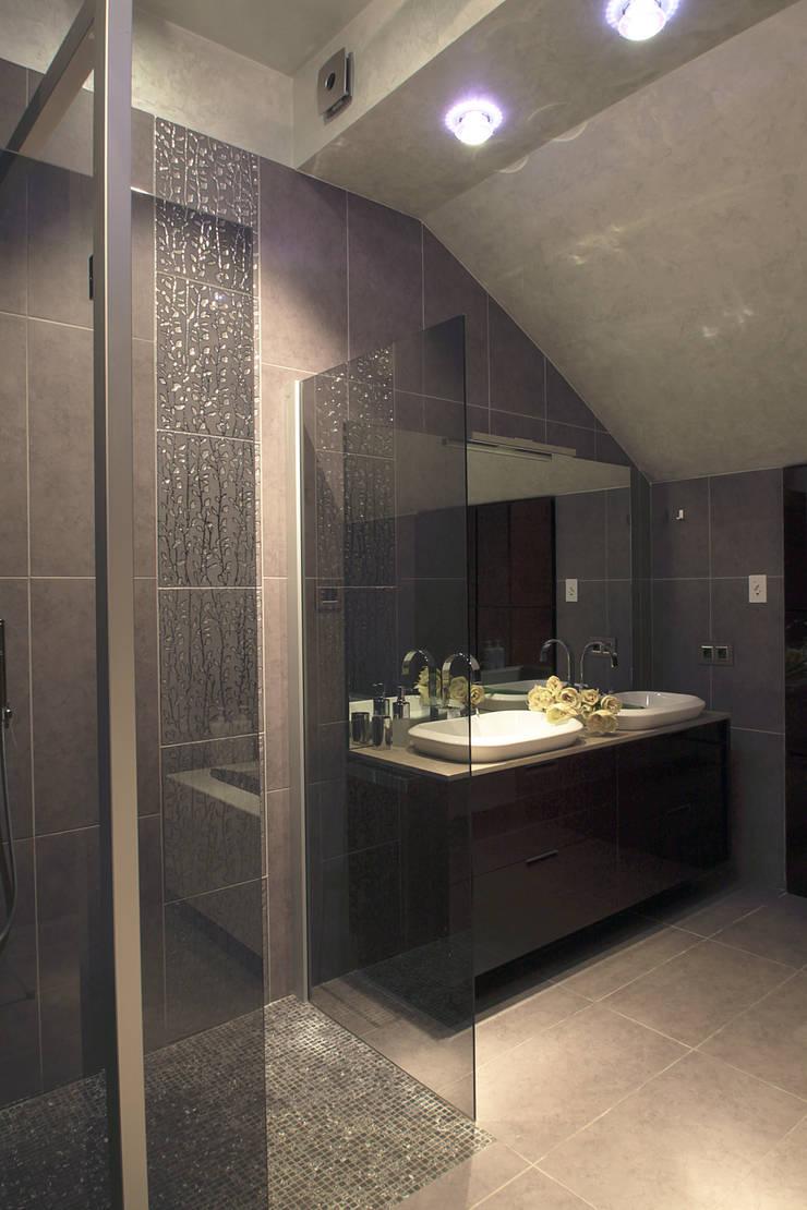 Квартира на Крестовском острове: Ванные комнаты в . Автор – Мария Бекетова  Света Лапина