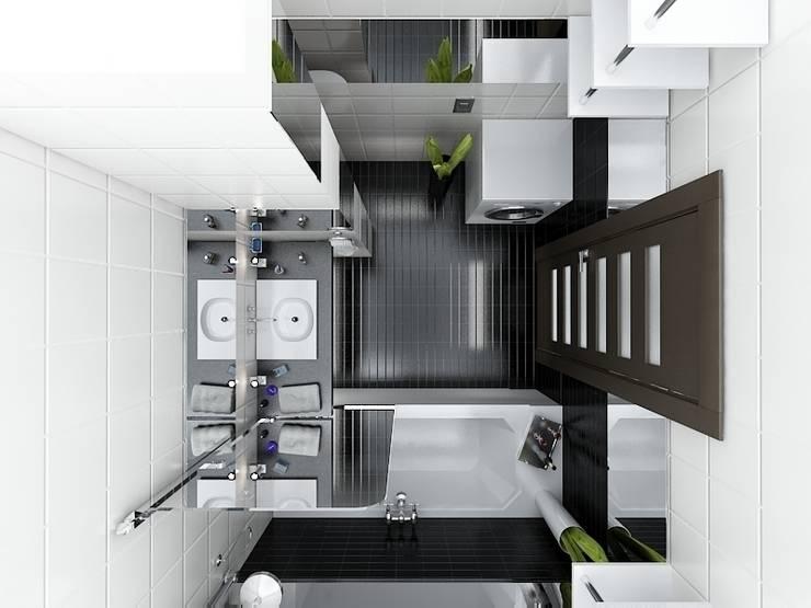 """Квартира в ЖК """"Новая Скандинавия"""": Ванные комнаты в . Автор – DEMARKA"""