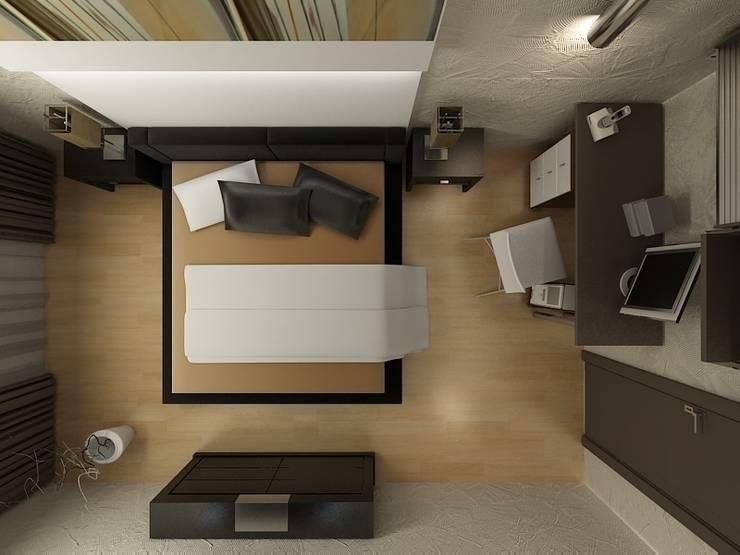 Квартира в ЖК <q>Новая Скандинавия</q>: Спальни в . Автор – DEMARKA