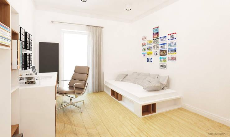 Projekt mieszkania 118m2 w Villa lux w Dąbrowie Górniczej: styl , w kategorii Pokój dziecięcy zaprojektowany przez Ale design Grzegorz Grzywacz