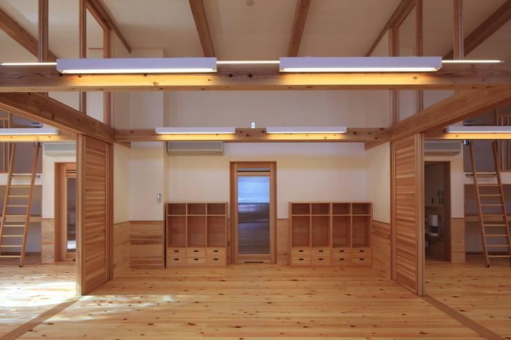 こどもきらきら園3,4,5歳児室その2: MK design studioが手掛けた学校です。