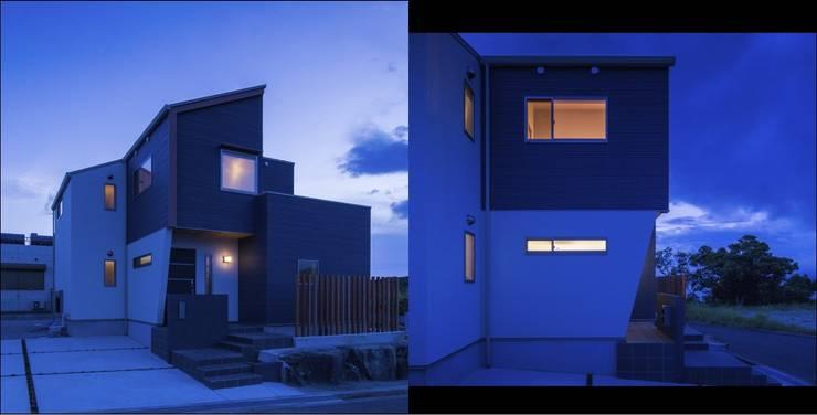 『海を望む家』: Studio REI 一級建築士事務所が手掛けた家です。