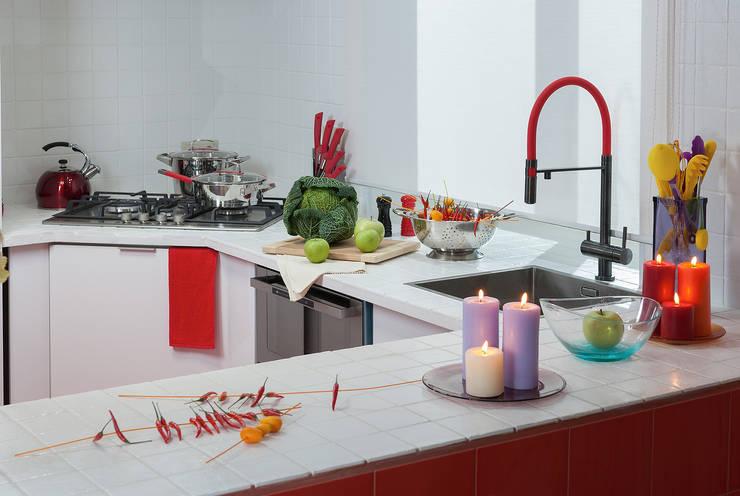 Дачный авангард: Кухня в . Автор – Bureau GN