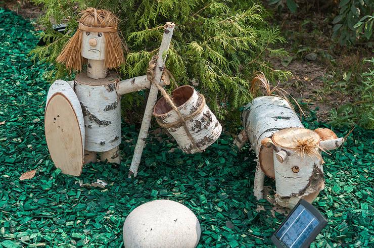 Терраса-Взлетная полоса: Сад  в . Автор – Bureau GN