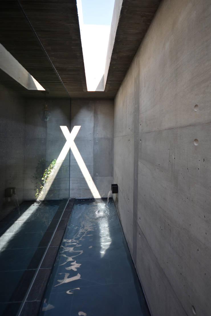 水盤: 株式会社クレールアーキラボが手掛けたプールです。